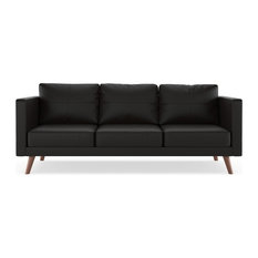 Kenya Sofa Vegan Leather, Onyx