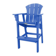 Pawleys Island Durawood Sunrise High Dining Chair, Blue