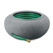 Akro Mils Granite Garden Hose Pot and Planter