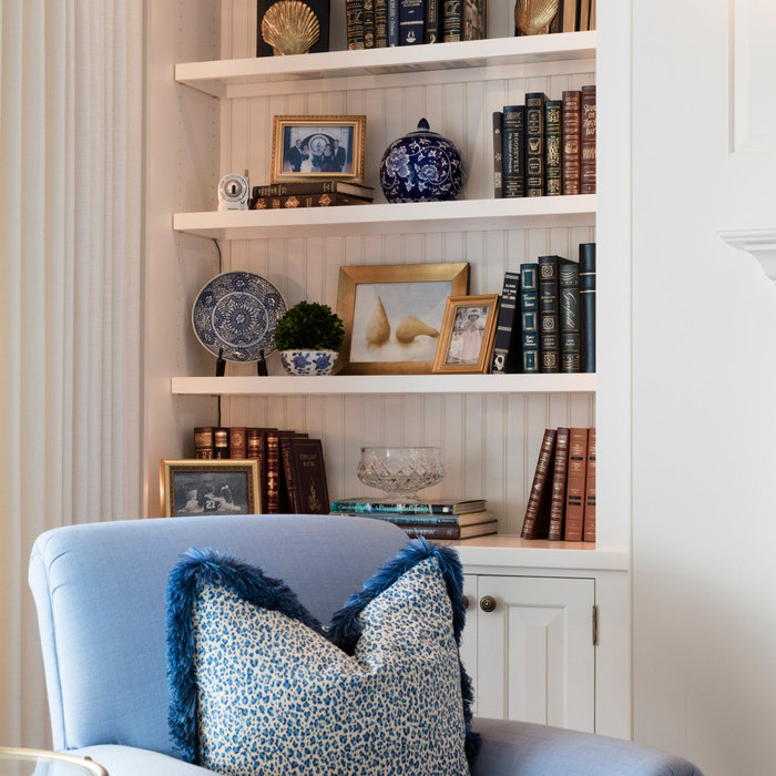 Laura Boyd Interior Design | Annapolis Maryland Living Room Refresh and Styling