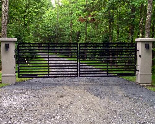 Aluminum driveway gates roselawnlutheran