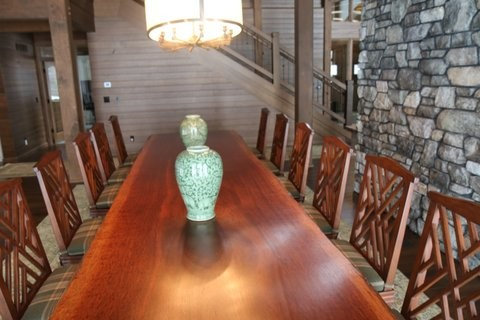 wonderful wisconsin wood slab tables dining tables
