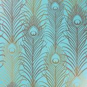 Peacock Wallpaper W6541 | Eden Wallpapers by Matthew Williamson