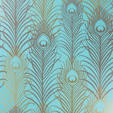 - Peacock Wallpaper W6541 | Eden Wallpapers by Matthew Williamson - Wallpaper