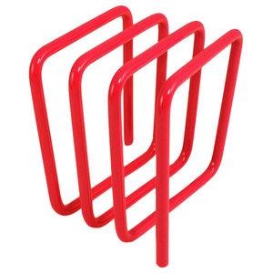 Block Letter Rack, Red