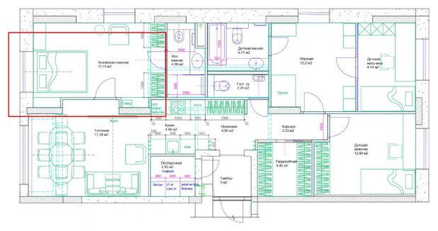 Поиск планировки: Воздушная и легкая квартира