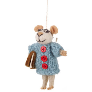 Felt So Good Susie Mouse Christmas Decoration
