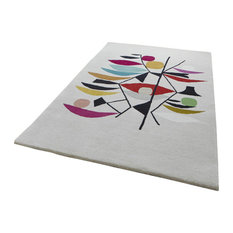 Inaluxe Plant Rectangular Funky Rug, 150x230 cm