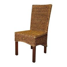 International Caravan Bali Gaby Woven Abaca Dining Chair