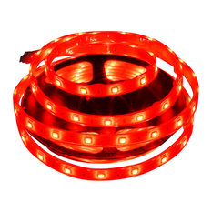 Red Waterproof 5050 36W LED Strip Light