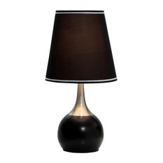 table lamps with a touch switch houzz. Black Bedroom Furniture Sets. Home Design Ideas