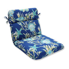 Genial Pillow Perfect Inc   Daytrip Pacific Rounded Corners Chair Cushion    Outdoor Cushions And Pillows