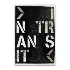 In Transit, Canvas Print