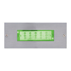 Jesco HG-ST10C-12V-G LED Recessed Wall Aisle and Step Lights
