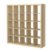Expedit Shelving Unit, Birch Effect