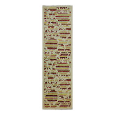 3x10 Runner Arts and Crafts Oriental Area Rug, P5261