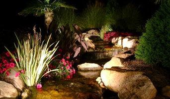 Nightlighting Waterfalls