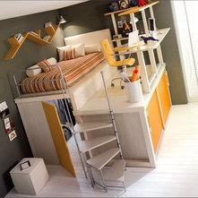 Contemporary  Loft Idea
