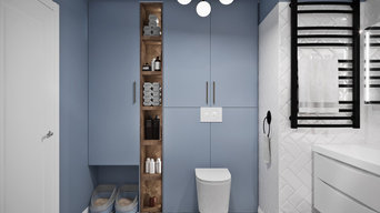 Ванная комната (эскизы, чертежи, визуализация)