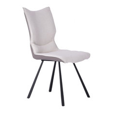 Silvia Dining Chair White And Gray