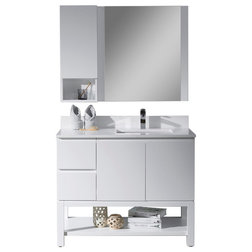 Contemporary Bathroom Vanities And Sink Consoles by Blossom Kitchen & Bath Supply
