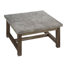 Raw Peralta Concrete Coffee Table Tables