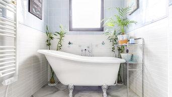 Rénovation salle de bain vintage