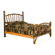 furniture barn usa rustic hickory sunburst bed full size twin bed