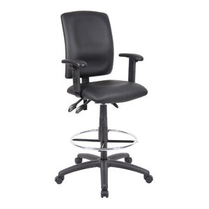 Harwick Extra Tall Ergonomic Drafting Chair Contemporary