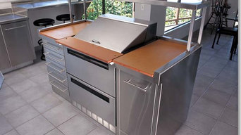 Residential Refrigerated Island