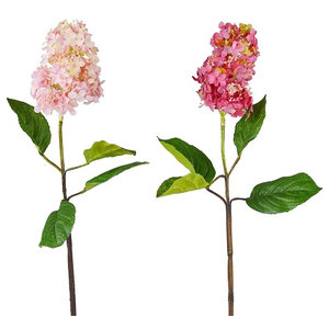 Pink Artificial Lilacs, Set of 2