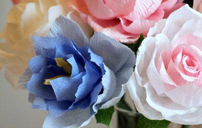 И поливать не надо: Цветы из бумаги своими руками