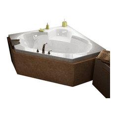 Atlantis Tubs 6060S Sublime 60x60x23 Inch Corner Soaking Bathtub