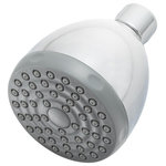 Speakman - Single-Function 1.5 GPM Commercial Shower Head, Polished Chrome - The Single Function 1.5 GPM low flow shower head is the ideal solution for commercial facilities that require a minimalistic showerhead which performs well at a low flow rate. This water saving shower head has a plastic face with 50 individual spray outlets.