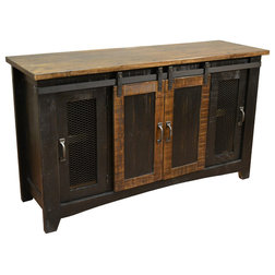 Industrial Entertainment Centers And Tv Stands by Crafters and Weavers