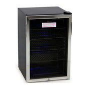 Beverage Center Cool Built-In Cooler Mini Refrigerator With Lock