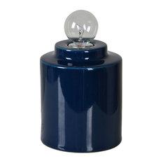 Westover Table Lamp, Dark Blue