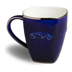 Concours d'Elegance Mug, Set of 2, Royal Blue
