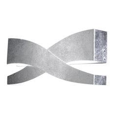 Fifì Wall Light, Silver Leaf