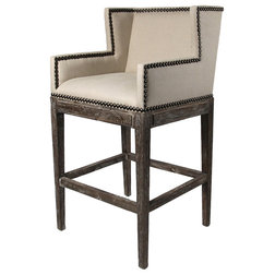 New Traditional Bar Stools And Counter Stools by Kathy Kuo Home