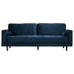 Gdf Studio Jasmine Traditional Fabric 3 Seat Sofa
