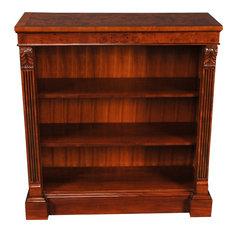 Bookcase, Penhurst Acanthus Reeded Columns