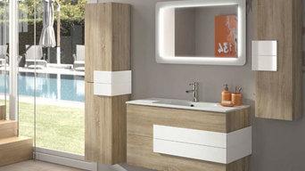 Muebles de Baño Cronos Roble Blanco