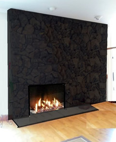Lava Rock Fireplace What To Do