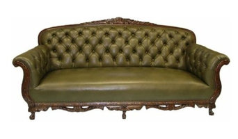 Tufted Arched Sofa