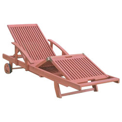 Transitional Outdoor Chaise Lounges by Homesquare