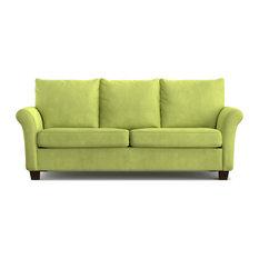 Bay   Modena Velvet Sofa, Green   Sofas