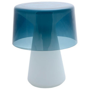 Cameron Peters Nelly Murano Glass Table Lamp, Blue