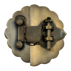 Latch With Scalloped Backplate