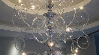 VANITY collection - Custom made chandelier